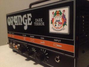 Tête Ampli Orange Dark Terror