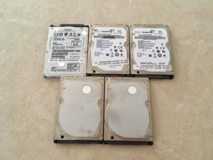 5 x SATA Hard Drives (320GB Each)