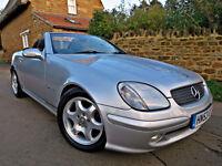 2003 Mercedes-Benz SLK200 KOMPRESSOR 2.0 AUTO. FULL SERVICE HISTORY !!