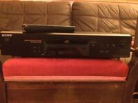 High End Sony Cd Player With Remote