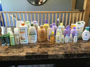 Assorted beauty & baby products