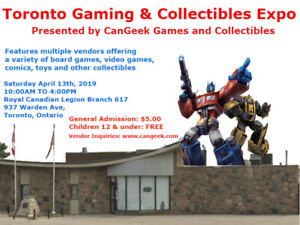 The Toronto Gaming and Collectibles Expo