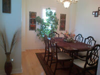 Knechtel China Buffet, Dinning Table and 6 chairs