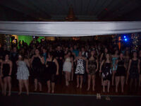high school semi-formal / prom dance