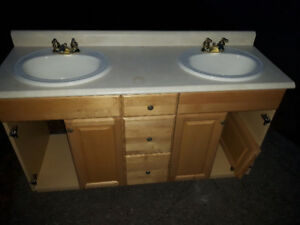 Free vanity and taps included