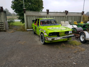 1984 BMW 318 dirt track race car