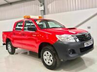 2013 TOYOTA HILUX HI-LUX LOW MILEAGE 2.5D-4D 4WD HL2 DOUBLE CAB 4x4 RED PICKUP