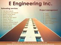 Estimating Services for Contractors