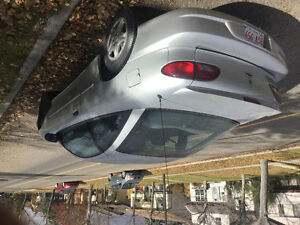 2001 Chevrolet Cavalier  2 dr silver. 1500 firm