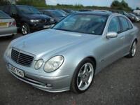 2005 05 MERCEDES-BENZ E CLASS 3.5 E350 AVANTGARDE 4D AUTO 272 BHP