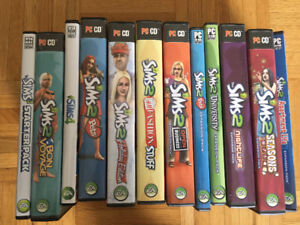 SIMS2, 3, 4 PC games