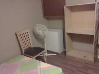 Room for rent in a muslim house for male or student.
