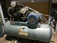 Compresseur Eagle 15 HP 575Volts moteur neuf