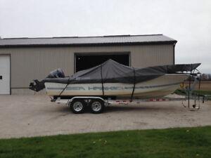 21' Chris Craft Seahawk, 200HP Yamaha, NEW Aluminium Trailer