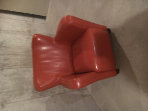 Faux leather chairs for sale