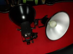SMITH VICTOR PL12 PHOTOGRAPHY STUDION LIGHTS PAIR 500W
