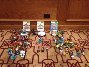 Huge Skylanders collection, plus Xbox 360 games and portals