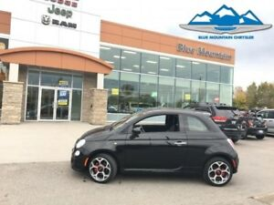 2016 Fiat 500 Sport  ACCIDENT FREE, LEATHER, FUEL SAVER!