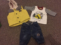 Baby outfit (size upto 7lb 11oz) worn once