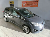 2013,Ford Grand C-MAX 2.0D 140bhp 7seats Titanium***BUY FOR ONLY £48 PER WEEK***