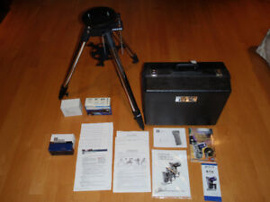 MEADE ETX 105 telescope with custom hard case & all accessories