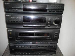 Sony 5 Disc, Duel Tape,Original Antenna