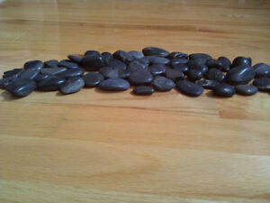 Lot of assorted decorative black stones As shown in the pictures London Ontario image 3