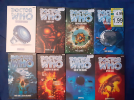 FOR SALE Eighth Doctor BBC Novels FOR THE SERIOUS DOCTOR WHO COLLECTOR