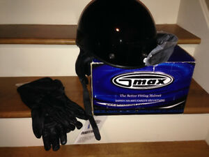 Women's/girls/boys Motorcycle helmit and gloves