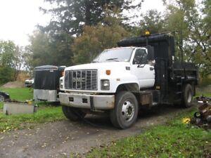 1997 GMC C8500 S/A  Dump Truck AUTOMATIC TRANSMISSION