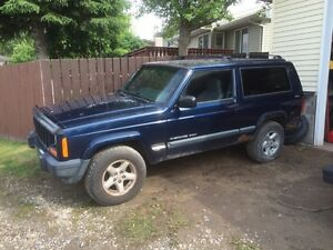 2000 Jeep Cherokee 2 door parts or whole