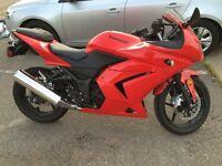 2008 Kawasaki ninja - low kms