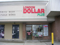 Dollar Store for Sale in Prime Location in London!