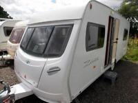 Lunar Zenith EB 2007 4 Berth Lightweight Fixed Bed Touring Caravan