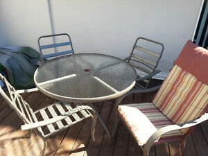 4 Chair Patio Set