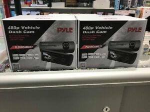 PYLE DUAL DASH CAMERA SYSTEM 480P WITH GPS LOGGER
