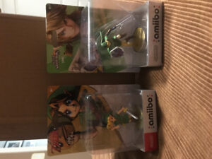 Nintendo Amiibos Link. Trade for Disney infinity 3.0