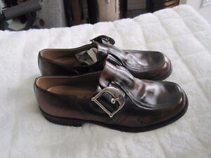 New Imported Leather Dress Casual Gallus Shoes from Germany