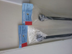 New Levelor curtain rods with hardware and rings