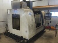 Two CNC machines in need of repair with FANUC control