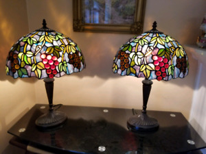 Gorgeous two tiffany lamps