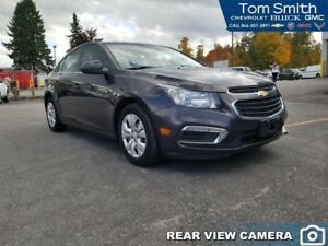 2015 Chevrolet Cruze 1LT  - Certified - Bluetooth - $97.39 B/W