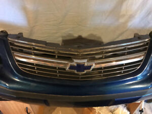Impala Front Bumper Cover and Grill