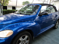 2005 Chrysler PT Cruiser décapotable