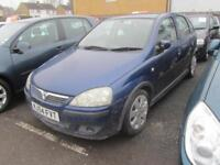 2004 Vauxhall Corsa Hatch 5Dr 1.2 16V 80 SXi Petrol blue Manual