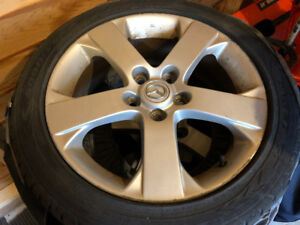 Mazda Rims with Eagle GT All Season Tires