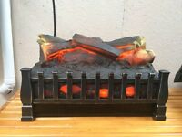 Electric fire log