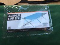 Aluminium camp bed