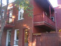 logement 3 étages Plateau Mt-Royal