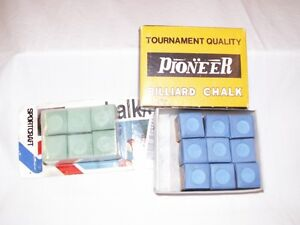 15 New Billiard Chalk Cubes